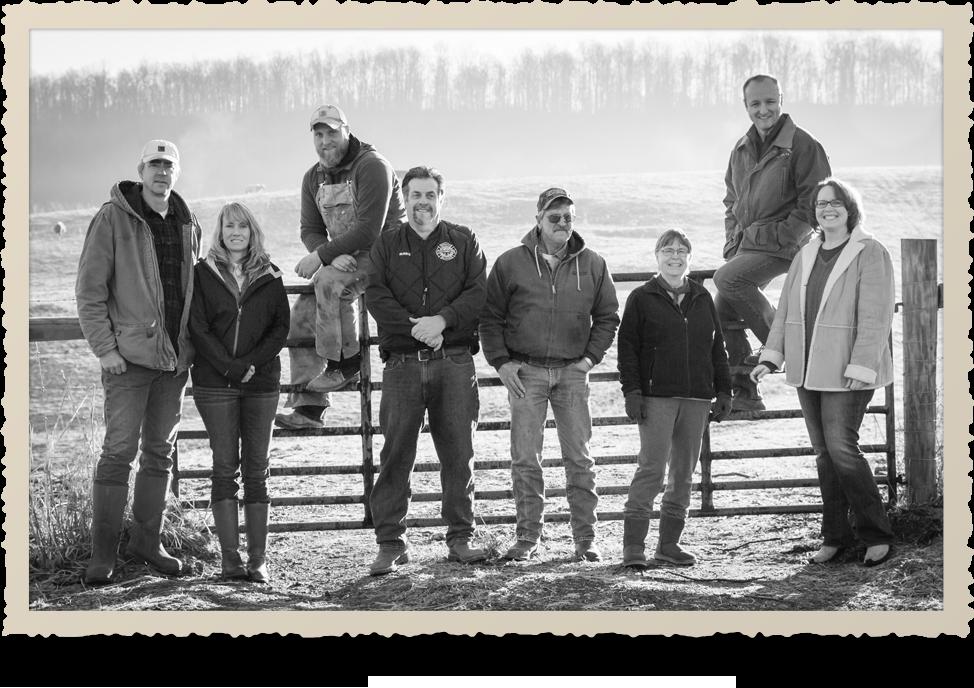 Eldon Farms Team Photo